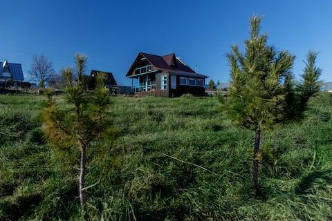 Гостевой дом ГЛУХОМАНЪ, дом в деревне, баня вкл.