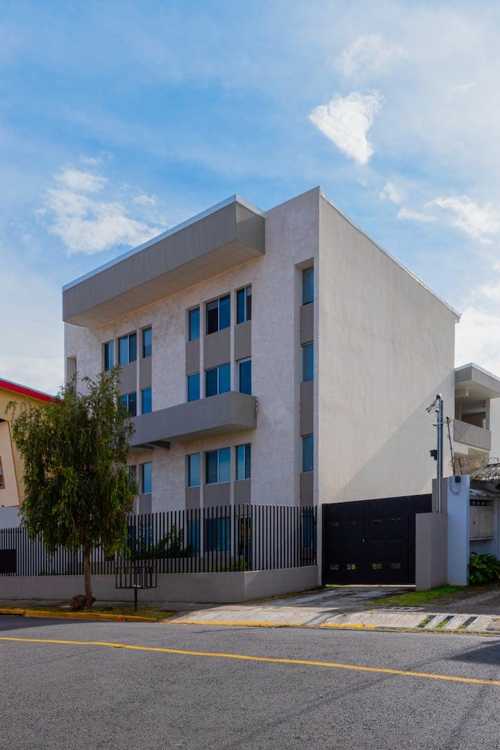 11- Quaint 2 bedroom apartment in a new building
