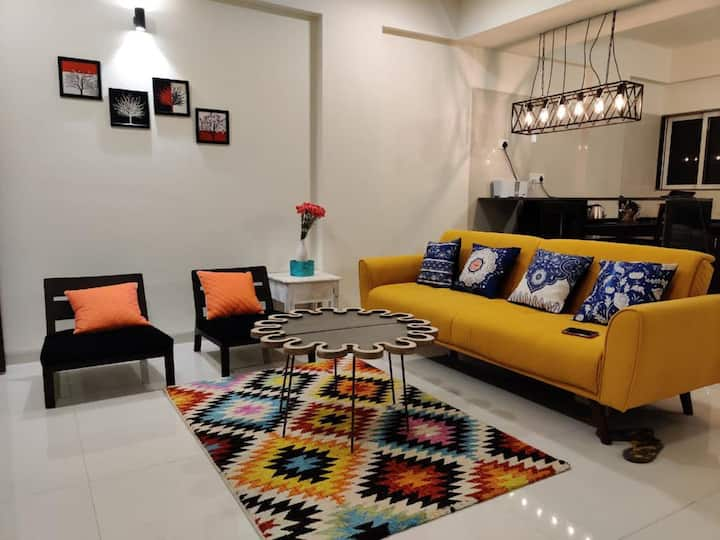 Nesta By CasaFlip : 2BHK Apartment Anjuna/Vagator
