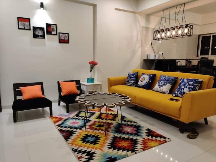 Nesta By CasaFlip : 2BHK Apartment Anjuna/Vagator