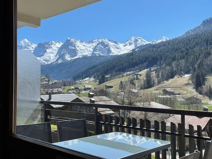 Grand Bornand Village, close ski slopes and shops