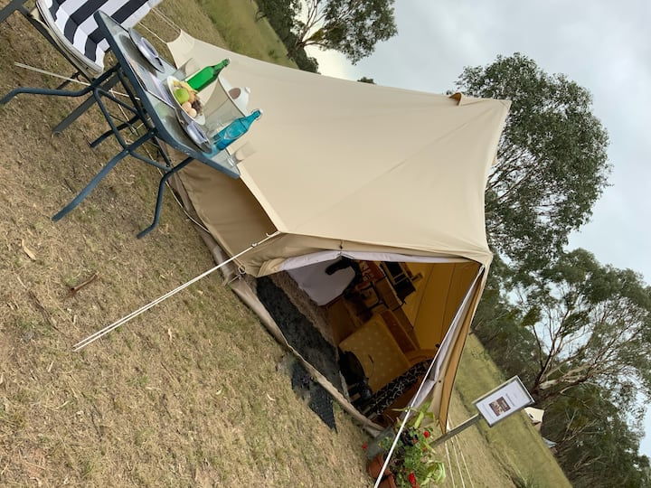 """BUNDJALUNG"" · ""BUNDJALUNG"" · The first of our eight new ""glamping sites""."