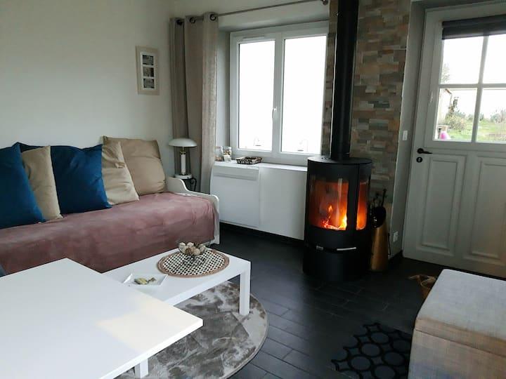 Au pied à terre Côté Jardin / Private house