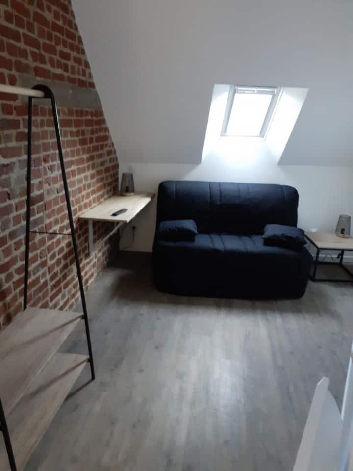Studio neuf et équipé en hyper centre d'Amiens