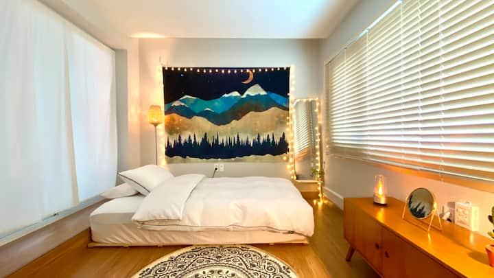 감성 캠핑과 편안한 숙소를 함께 즐길수 있는 에어비앤비 / 감성숙소, 캠핑체험