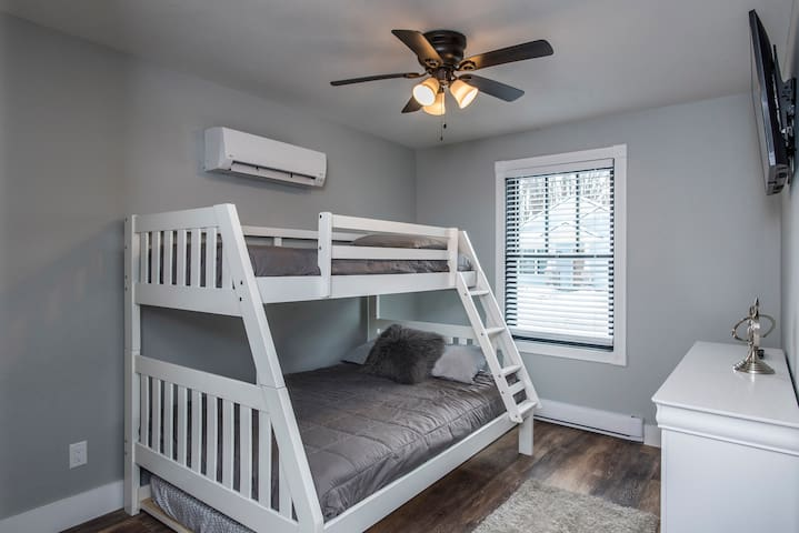 2nd Bedroom- Features Twin over Full bunkbed with Full size trundle bed on the bottom