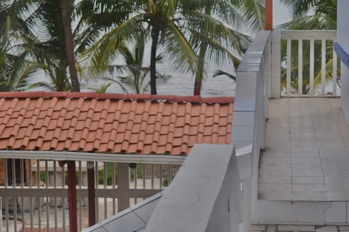 Apartamento equipado frente al mar