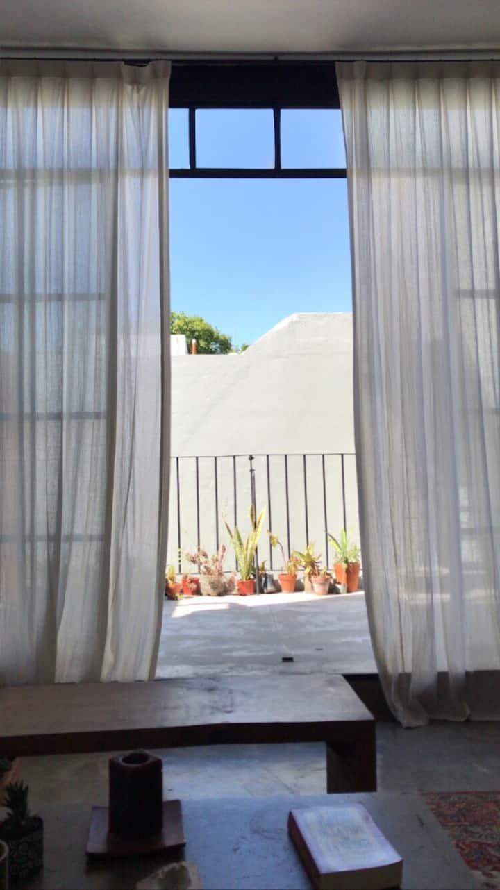 PH para 2 en Villa Crespo, con Terraza y Pileta