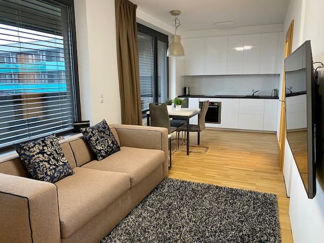 Stylish apartment Anna with private parking