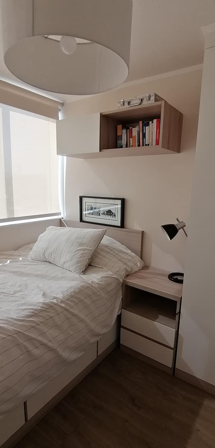 Cómoda y genial habitación en Barrio Italia