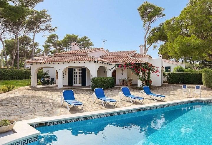 Fantastic Villa in Cala Blanca with Amazing Pool