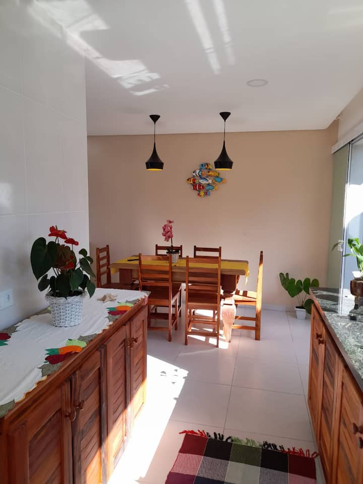 Casa Aconchegante na Praia do Jabaquara #2