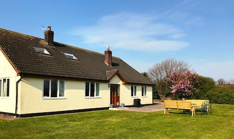 Detached  farm property  with lovely views