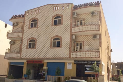 Lady Queen Apartment v městě Marsa Alam  u moře
