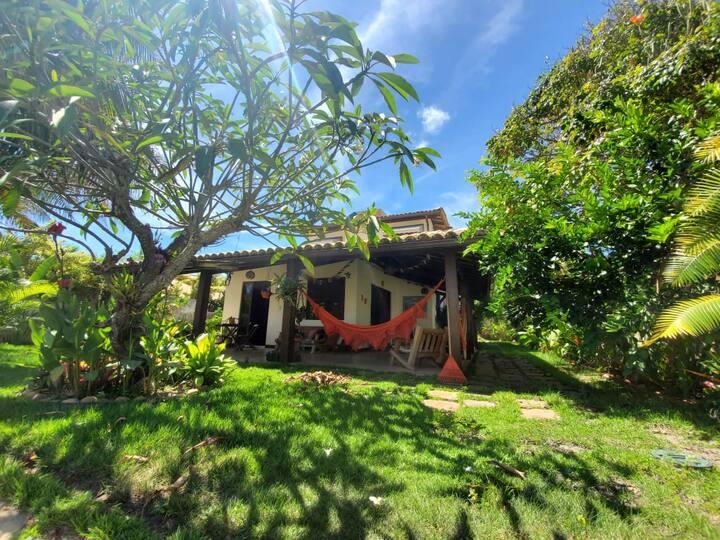 Casa de Praia, Rio, Piscina, Jardim e Varanda
