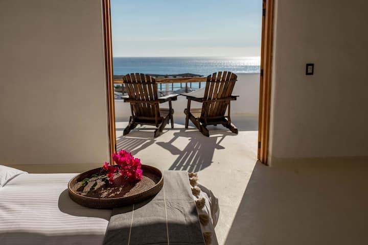 Suite Panorámica dos habitaciones convista al mar