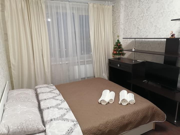 Уютная квартира с видом на город @volga_aparts