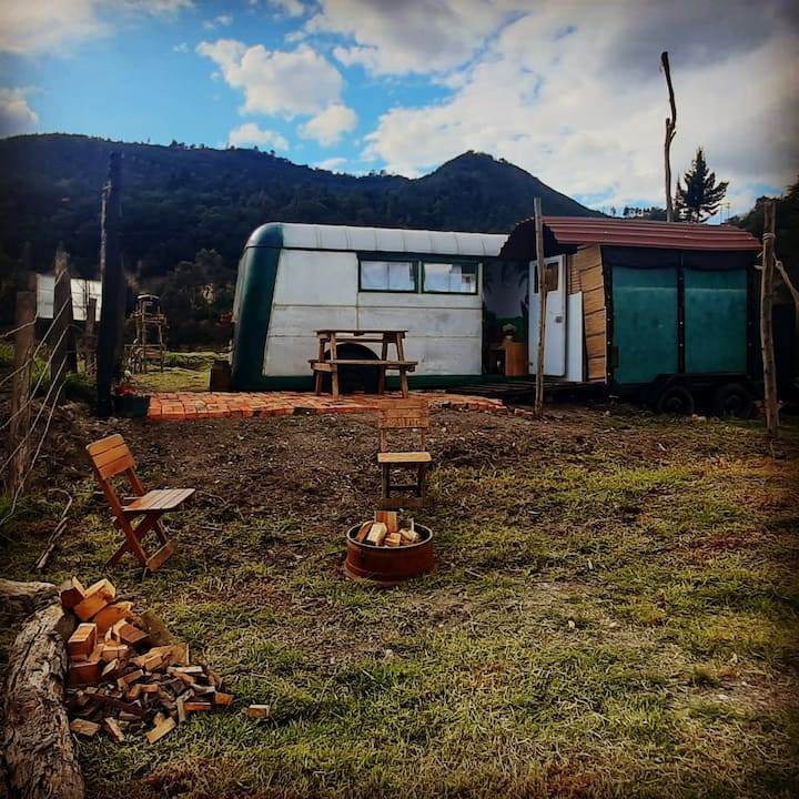 Glamping cerca  de Bogotá