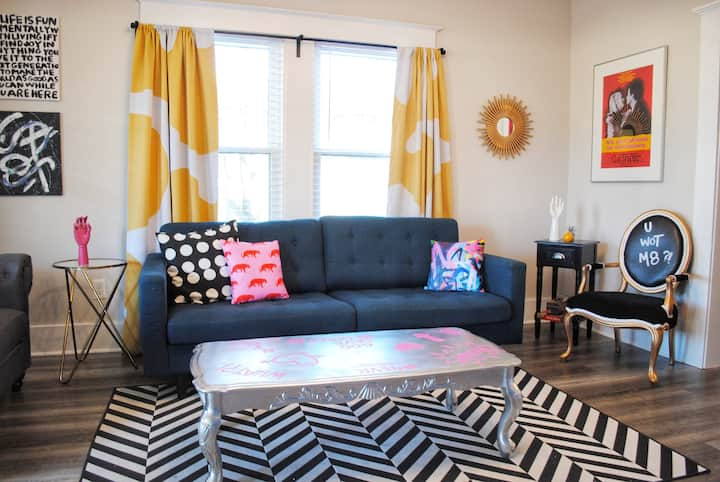 Funky & Fun - Home centrally located in Memphis!