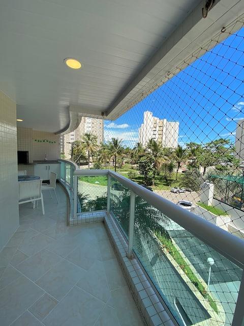 Beautiful apartment Ocean Front!! Super Complete!