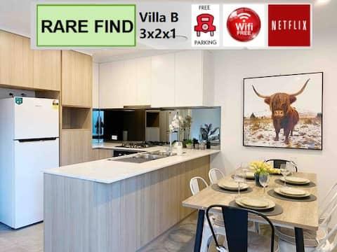 Villa Bintang 5 20B 15 menit ke Scarborough Beach/CBD