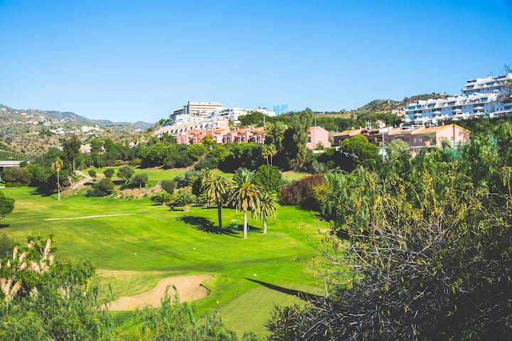 Casa para 10 personas en campo de golf Añoreta
