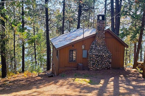 Lakefrnt Treehouse Cabin w/Trail thru Nature 2Lake