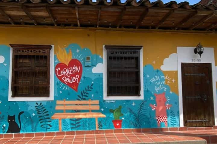 Hermosa Casa Colonial en San Carlos (Ant)