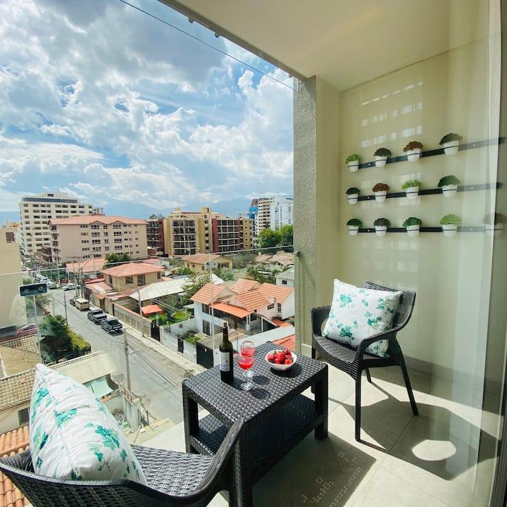 SUITE con balcón en Zona Recoleta* (105)