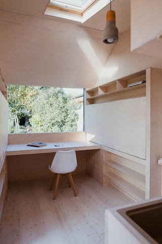 Tiny House with a Workspace