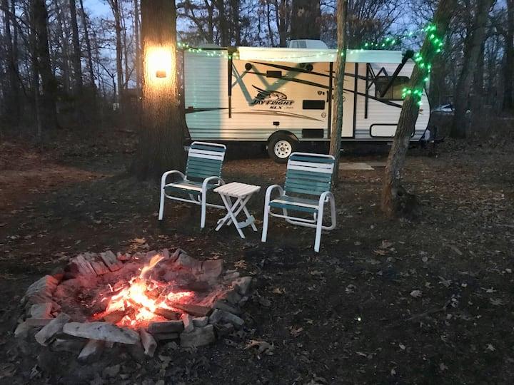 Glamping at Lake of the Ozarks