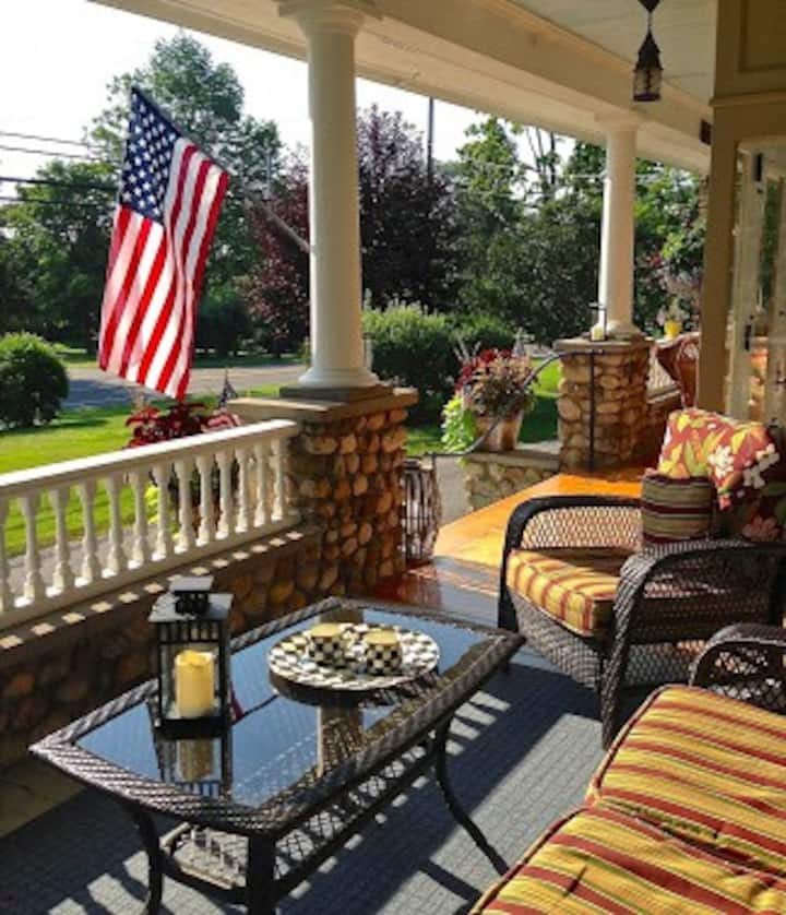 Canandaigua Cobblestone Cottage Bed & Breakfast!