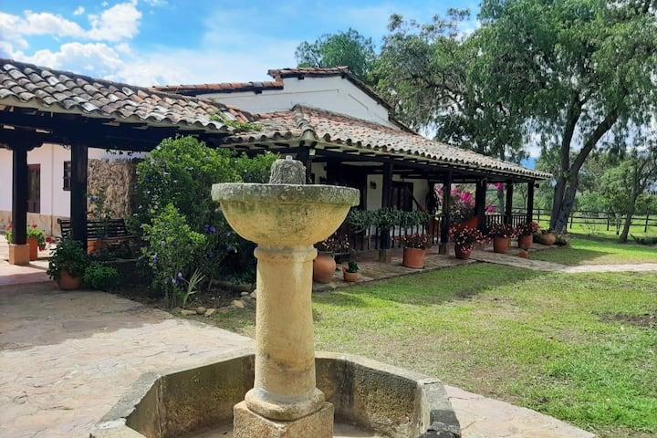 Hacienda El Recuerdo, a 10 min carro de la Plaza