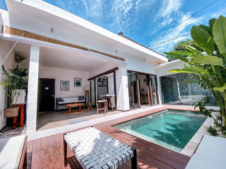 Exotic Minimalist 1 Bedroom Villa In Canggu