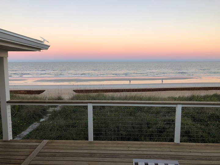 Oceanfront home in St. Augustine, newly renovated!