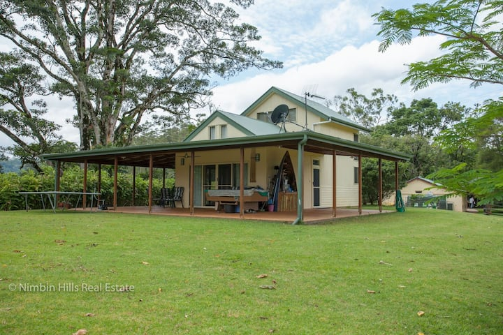 Relax on a private and scenic 130 acre property