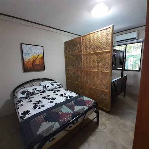 Full-Size Bed & Bunk has Full-Size Bed and Sigle Bed on top. All new mattresses