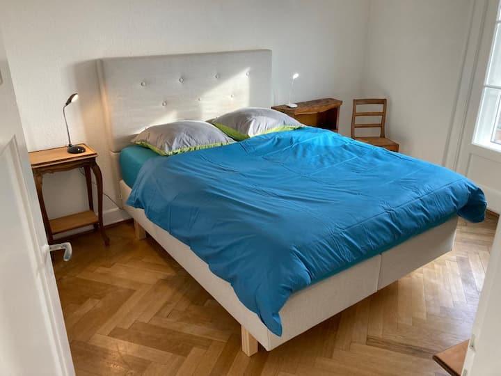 Joli 2 pièces dernier étage, Lausanne centre