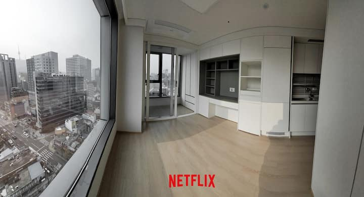 [Center] of Seoul, Myeongdong,  Namsan  Suite1611