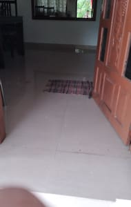 wide entrance to home stay