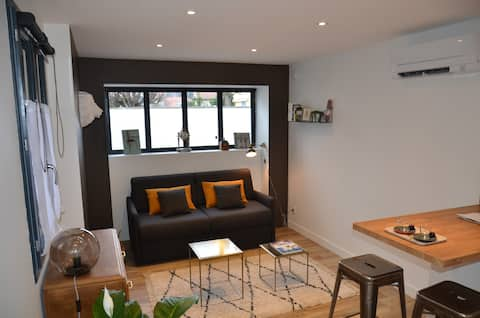 Le Burlat - Studio refait à neuf Lyon - Tassin