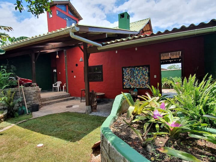 Mosaic House in Campeche Beach