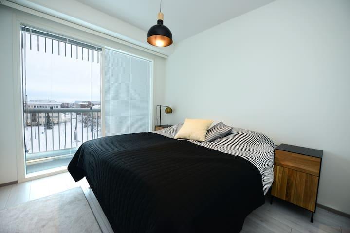 Makuuhuone 1. Bedroom no. 1.
