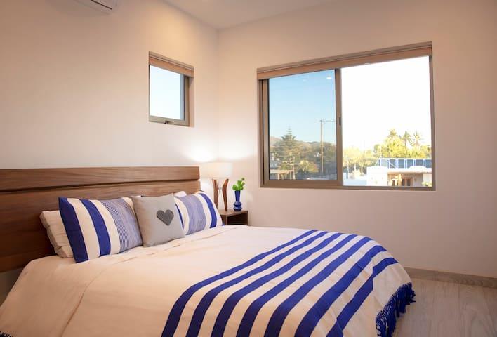 Casita Corazon king bedroom 1.