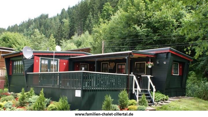 Familienchalet Zillertal- Camping Aufenfeld Aschau