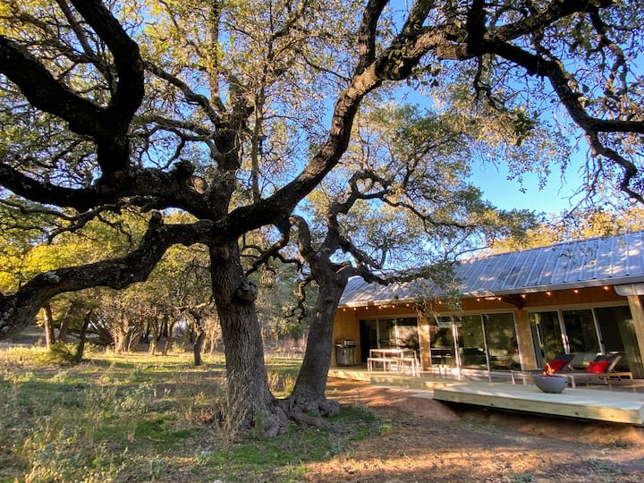 Wrap Yourself In Nature at Woodsy's Twin Oaks Barn