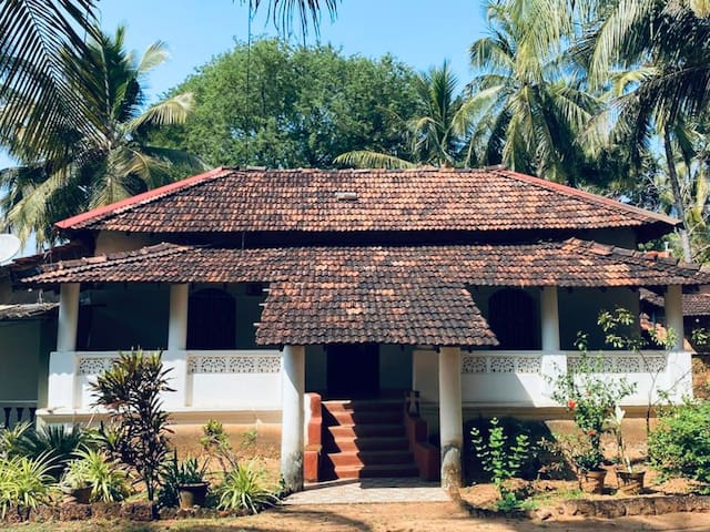 Charming Indo Portuguese house in Patnem Beach