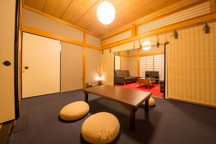 7min to Hiroshima sta. by bus! 6BR! Big house