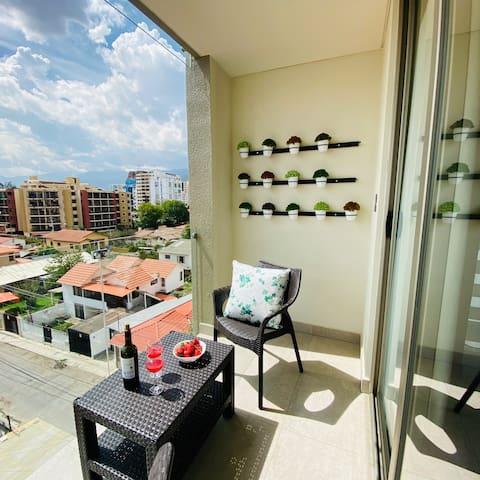 SUITE con balcón en Zona Recoleta (301)