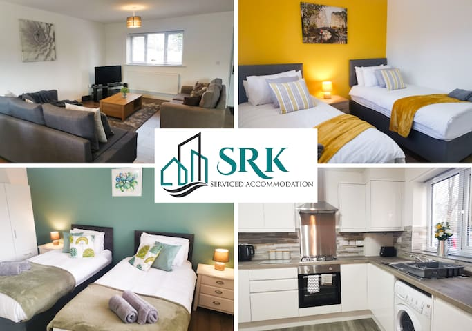 ✪ 28% DISCOUNT✪ 2 Bed Apt, Short or Long Stay★